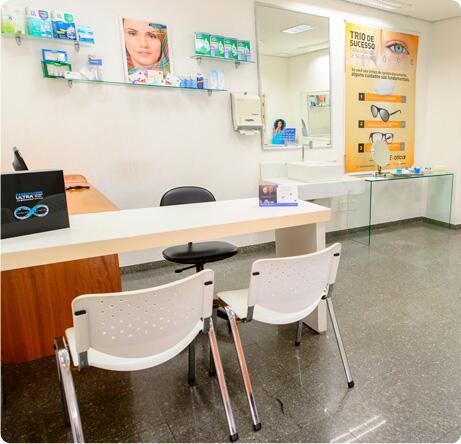 A Exótica oferece um completo departamento de lentes de contato com atendimento especializado de contatólogas. Nossas colaboradoras prestam toda assistência ao cliente nas orientações de uso, manutenção e cuidados necessários para seu conforto e durabilidade das lentes.